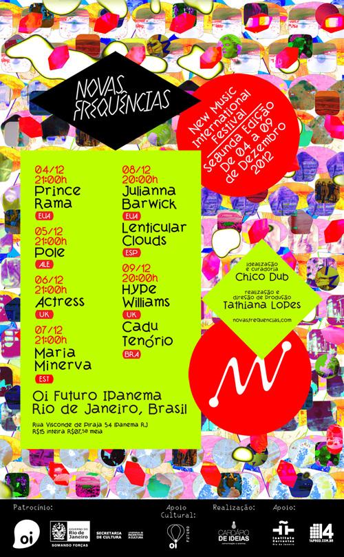 Cartel Novas Frequências 2015